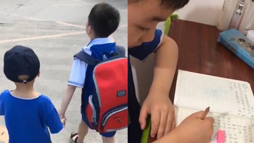 一封写往天堂的信:5岁抗癌弟弟去世,8岁哥哥写长信字字催泪