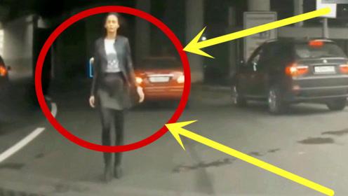 开车接媳妇下班,硬是被美女拦了下来,接下来的一刻看完不许笑!