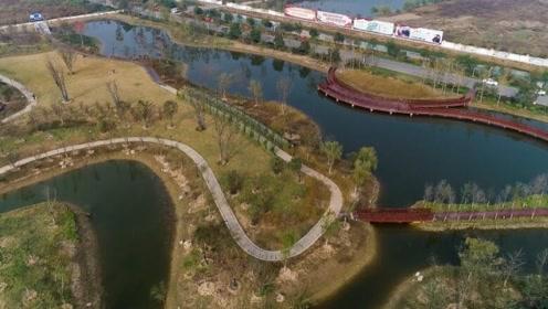 30秒带你看金秋最美潘安湖!