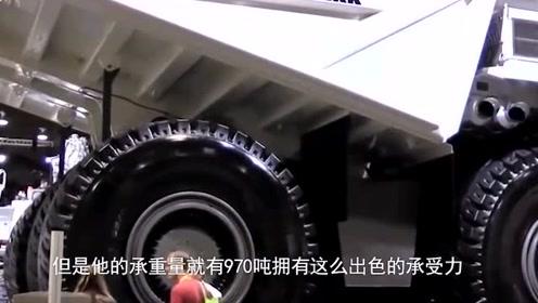 """东方引进""""最大卡车"""",车轮价值赶超奔驰,能承重970吨!"""