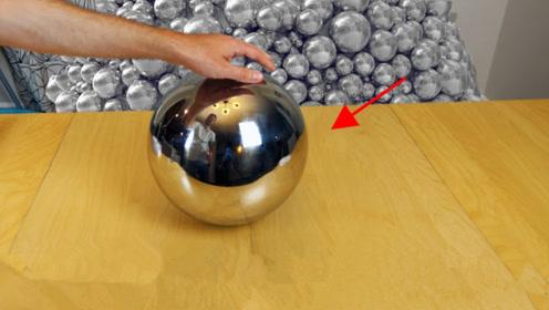 当一个四维的球进入三维世界,看起来到底是个什么样子?