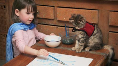英国自闭症女孩,拥有惊人绘画天赋,画作卖出百万天价