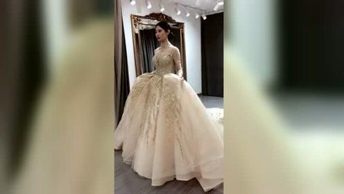 每个结婚的新娘都是这么美,完全就是出嫁的公主啊