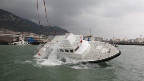 """侧翻7秒自主回正!中国又亮相一""""怪船"""",被盯上无法逃脱"""