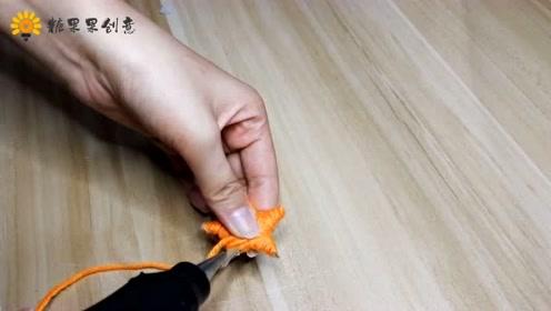 糖果VLOG:教大家做一个五角星吊饰,这么简单你也能做!