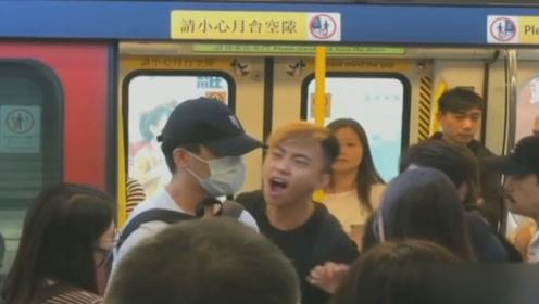 香港市民怒斥蒙面暴徒:你们不搞事 就不会有人死!