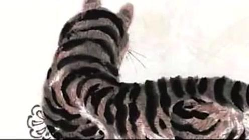 齐白石画的一只没头老虎,为何能拍3200万?放大后才发现另有玄机
