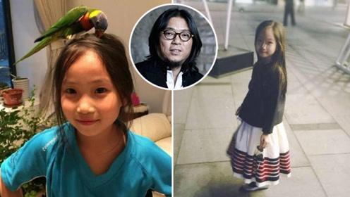 高晓松11岁女儿近照曝光,网友都说幸好不像爸爸