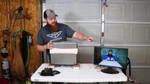 将1000根橡皮筋套在主机上,电脑会发生什么?老外亲测大感意外