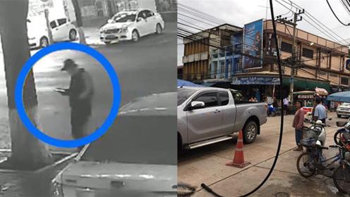现场速递 | 男子被砍伤后又被撞;女子遭2万伏高压电线砸中