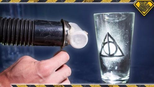 如何制作个性的磨砂玻璃杯?自制简易的喷砂机,一起来见识下!