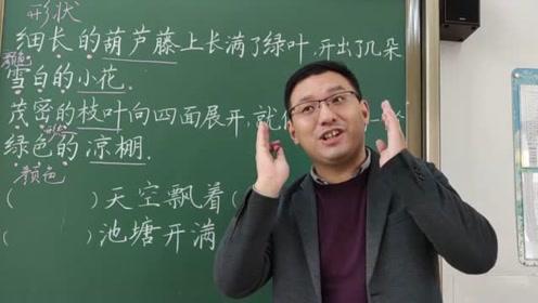 小学二年级语文看图写话,老师教大家举一反三,课堂效果真棒!