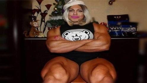 """俄罗斯""""最强壮""""的女人,胳膊有48厘米粗,婚后变化让人不敢相信"""