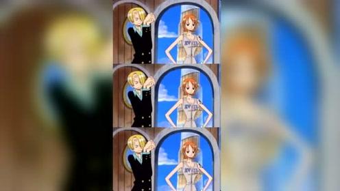 海贼王:山治对娜美是真的超级温柔呢!