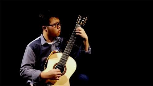 古典吉他演奏舒伯特《小夜曲》