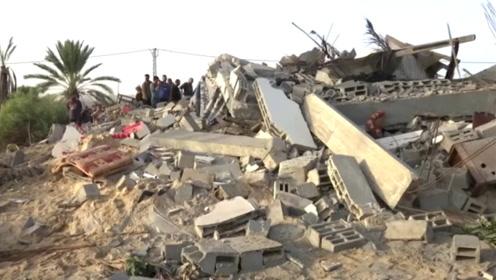以色列空袭致大量巴勒斯坦平民受伤 医院爆满伤员抢救不过来