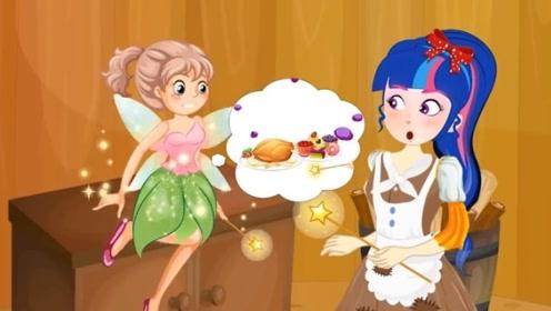小天使送灰姑娘一魔法棒,不料被富家女暗地折断,看到最后太解气!