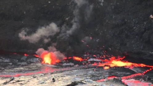 老外将煤气罐扔进火山,撒腿就跑,视频记录惊险瞬间!