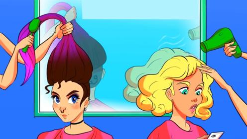 推理动画:这两个女孩当中,哪一个是犯人?