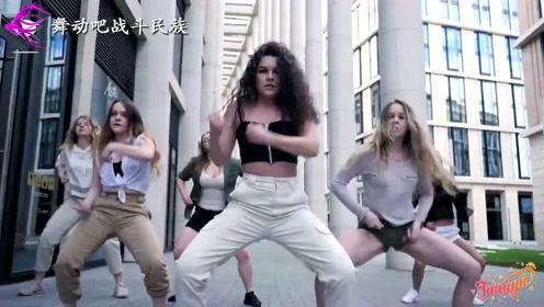 战斗民族女中学生跳街舞,最后的freestyle太强大了
