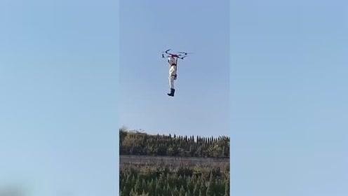 农民15万自制飞行器飞上天 律师:擅自飞行涉嫌违法