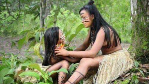 世界唯一女性原始部落,用这种方式繁育后代
