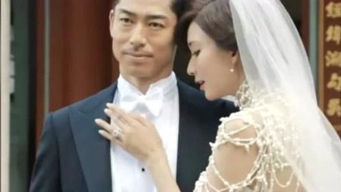 林志玲婚礼现场,挽着父亲的手走出酒店,与黑泽良平婚纱照曝光