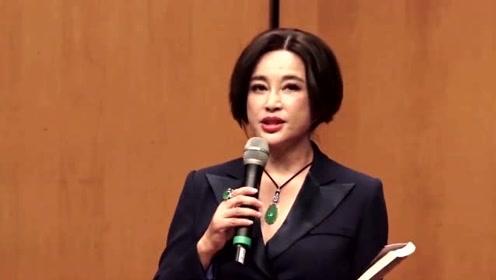 刘晓庆回应整容:五官是不能变的 我老不成