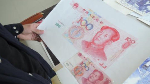 郑州小伙用圆珠笔画百元大钞,逼真程度让人惊讶,扫码还能飞凤凰!