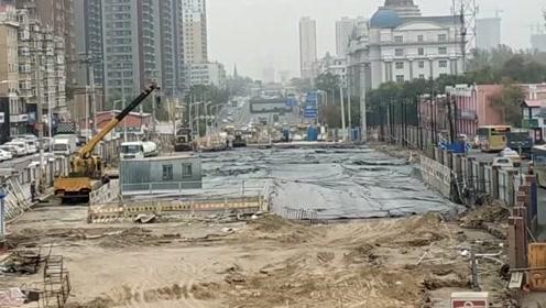 哈尔滨这个位置 堵了我四年回家的路 也不知道啥时候能修好