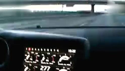 如此方式迎新年,国内最强GT-R车主!大年初一京承高速狂飙303kmh