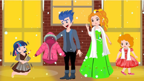女孩出生被父母抛弃,冰天雪地下乞讨,遇到热心父母收养!