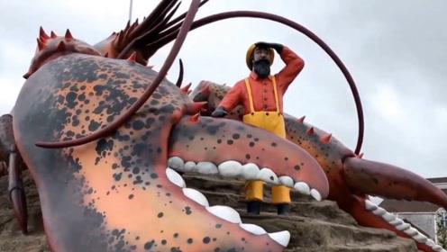世界上最大的龙虾,活了100岁还是被端上餐桌,会是什么味道呢?
