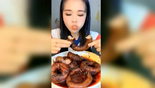 头一次吃这种肠,你认识叫什么吗?