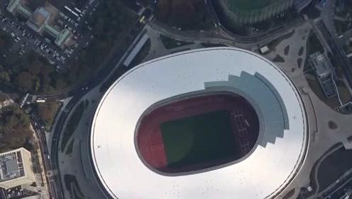 东京奥运会主体育场工程结束 总花费约99亿人民币