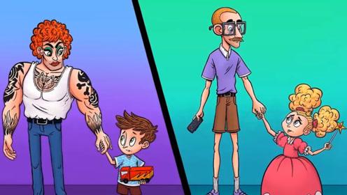 推理动画:这两个男人当中,谁是绑架犯?