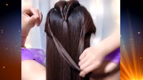 时尚小姐姐,扎这样的发型,尽显清爽美丽迷人气质