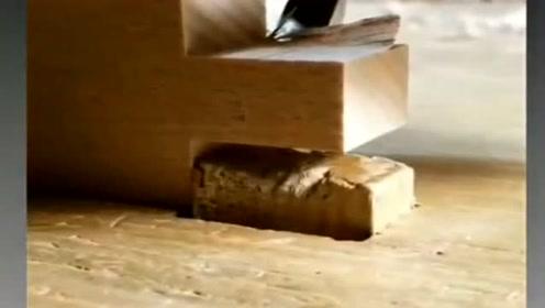 木料打磨,看着非常解压,自己动手的其乐无穷!