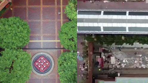看看暴徒做了什么?香港理工被占前后对比:从生机勃勃到满目疮痍
