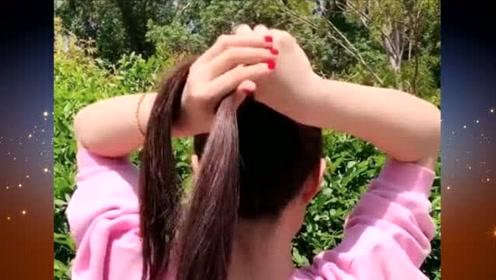 50岁大妈试试这样的扎发发型,让你瞬间减龄不止10岁哦