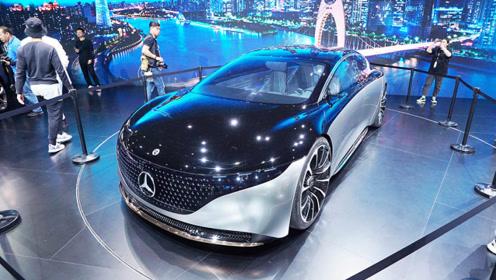 比Model S还能跑?奔驰Vision EQS国内首发