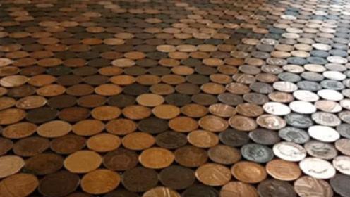 当年用硬币做地板的房子,6年后会是什么样子?看完长见识了!