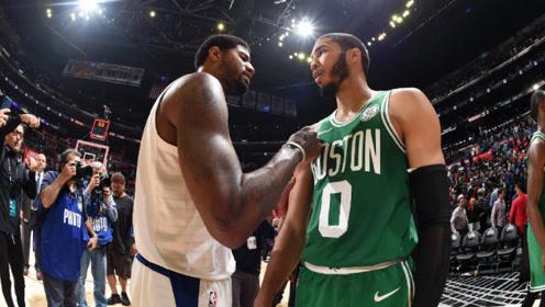 NBA上一周精彩过人合集 塔图姆脚踝终结保罗乔治