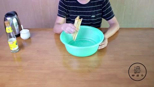 筷子放久了就会变黑和发霉,教你一招,以后不用花钱买筷子