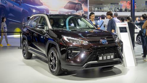 2019广州车展:实拍广汽丰田全新威兰达2.5L混合动力版本