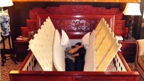 """中国大爷发明""""地震床"""",地震来了秒进安全空间,单个售价18万元"""