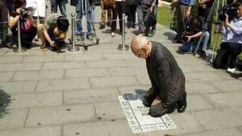此人将狼牙山五壮士逼的跳崖,50年后再次来到狼牙山,跪下忏悔