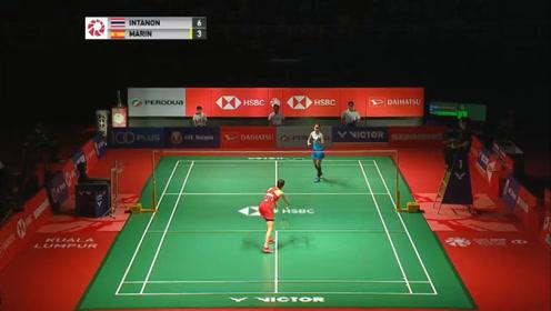 因达农 VS 马琳 2019羽毛球马来西亚大师赛 女单总决赛 精彩集锦