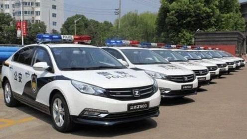 中国警车终于更新换代!一大批国产车加入阵营,网友:早该如此