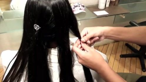 初中妹子为了不影响学习,把长发剪掉了,丑得不忍直视